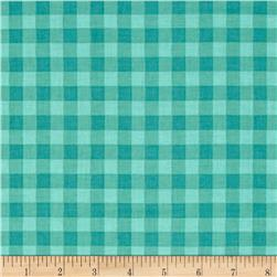 Stitcher's Garden Large Gingham Teal