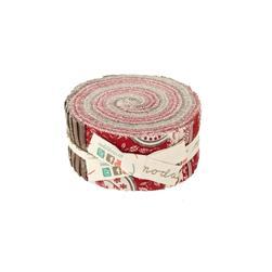 Moda Joyeux Noel 2.5 In. Jelly Roll Multi