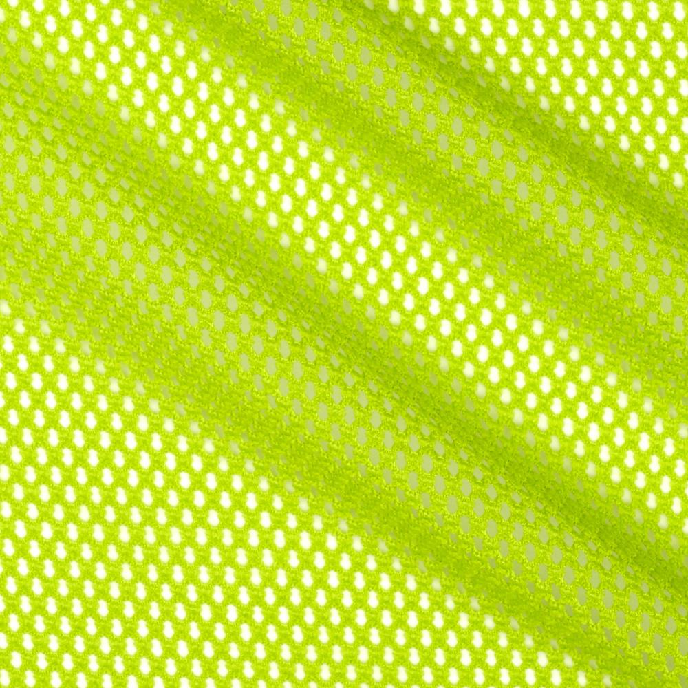 Telio mod stretch mesh lime discount designer fabric for Fabric cloth material