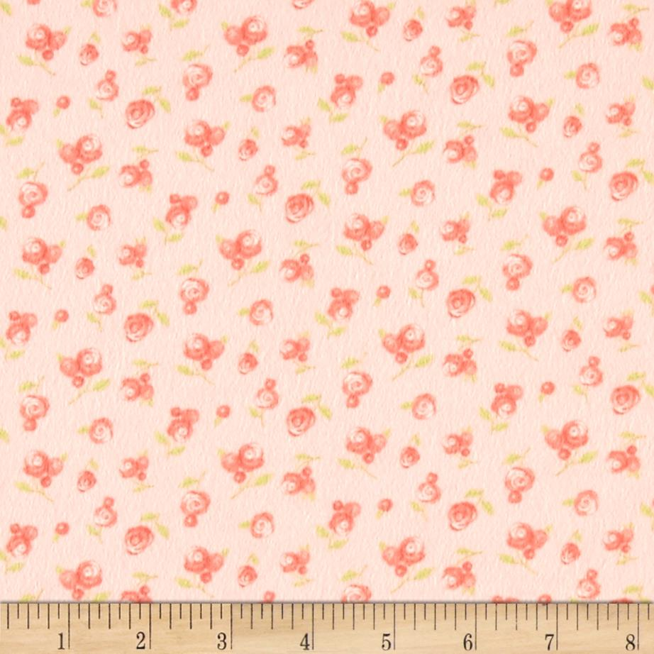 Moda sweet baby flannel sweet roses blossom discount for Cheap baby fabric