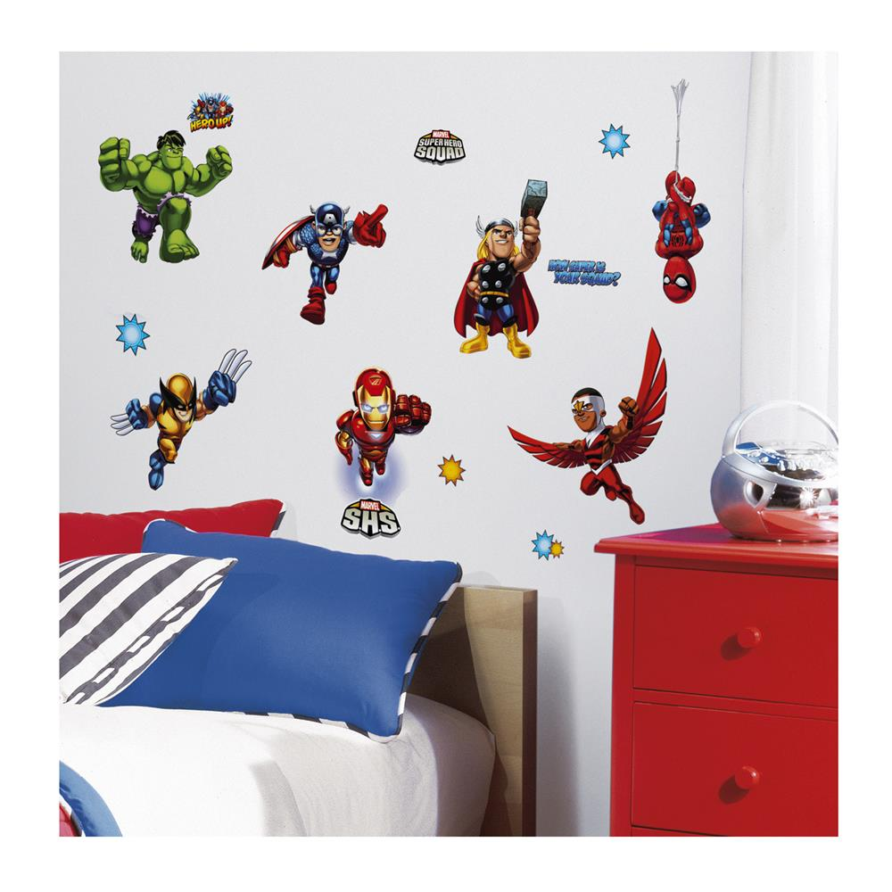 Marvel Super Hero Squad Wall Decals