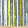 Kanvas Bumble Bumble Bizzy Stripe Grey/White/Yellow