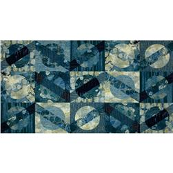"Moon Shadows 38"" Shadow Panel Blue"