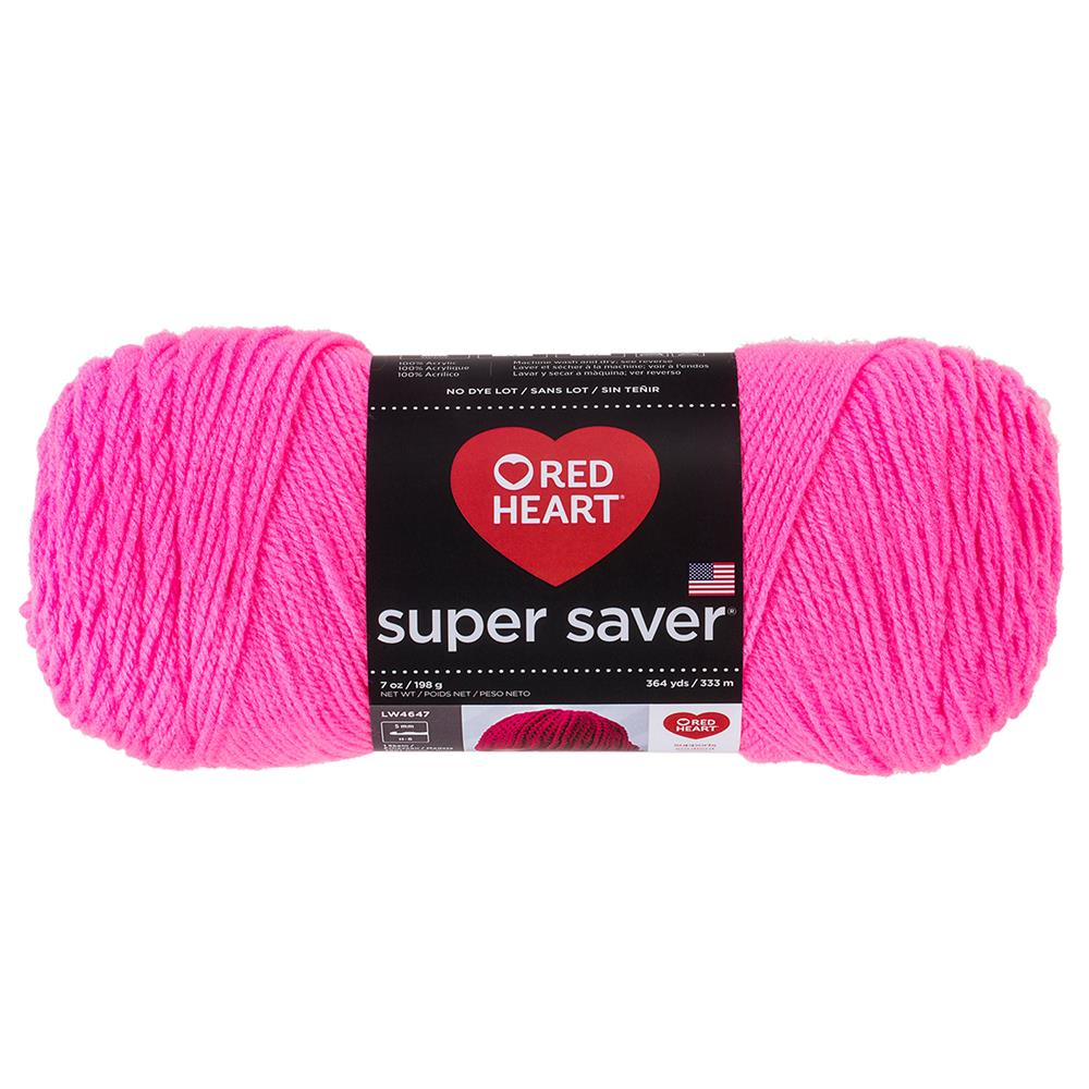 RED HEART SUPER SAVER YARN 722 PRETTY N