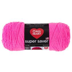 RED HEART SUPER SAVER YARN 722 PRETTY N PINK