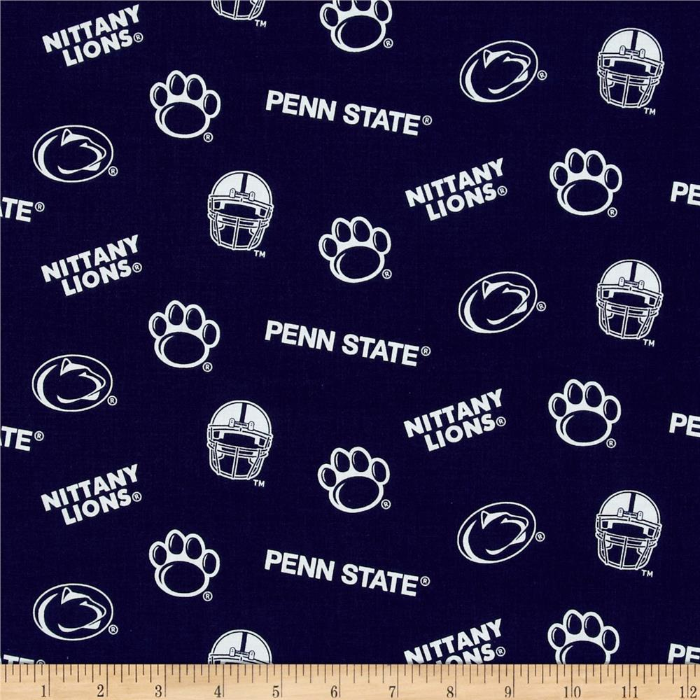 Collegiate Cotton Broadcloth Penn State