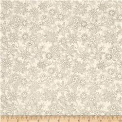 Winter Memories Snowflake Taupe