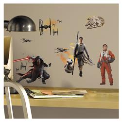 Star Wars Ep VII Ensemble Cast Wall Decal