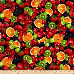 Fresh Squeezed Fruit Salad Black