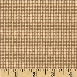 Penny Rose Americana Gingham Brown