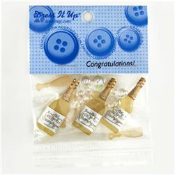 Dress It Up Embellishment Buttons  Congratulations