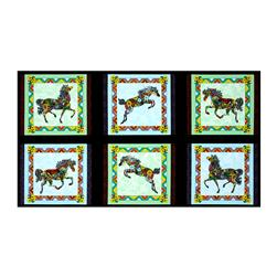 Painted Ponies Picture Patches Black