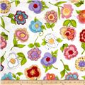 Loralie Designs Blossom Big Blossoms White