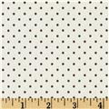 Riley Blake La Creme Basics Swiss Dots Brown