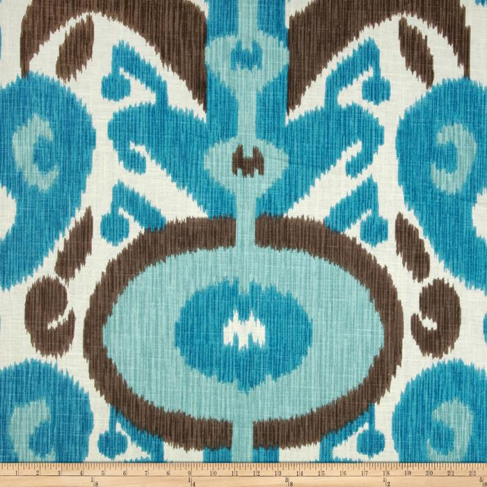 Braemore Big and Bold Ikat Bluebell