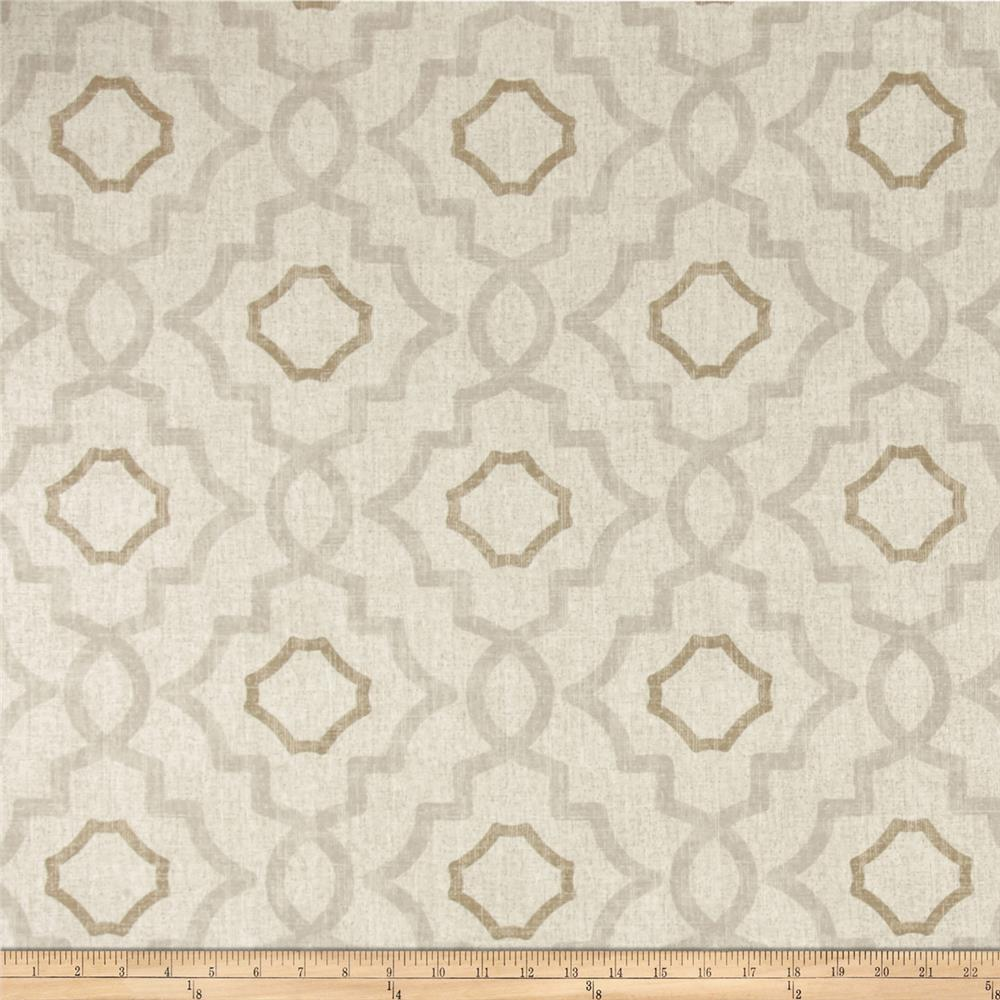 Magnolia home fashions talbot mist discount designer for Cheap fabric material