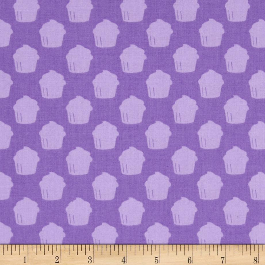 Baked With Love Cupcake Rows Purple
