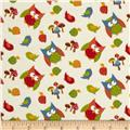 Lumberjack Flannel Tossed Owls Yellow