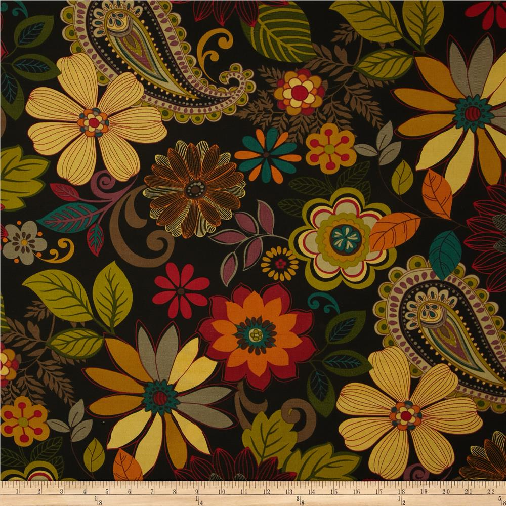 Discount outdoor fabric by the yard - Swavelle Mill Creek Indoor Outdoor Gaya Floral Pizazz Discount Designer Fabric Fabric Com