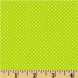 Dot Kitty Polka Dot Green