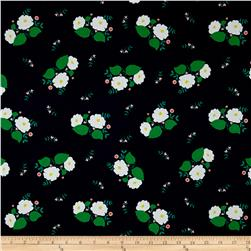 Maribel Large Floral Navy