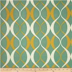 Richloom Indoor/Outdoor Duo Jacquard Seaspray