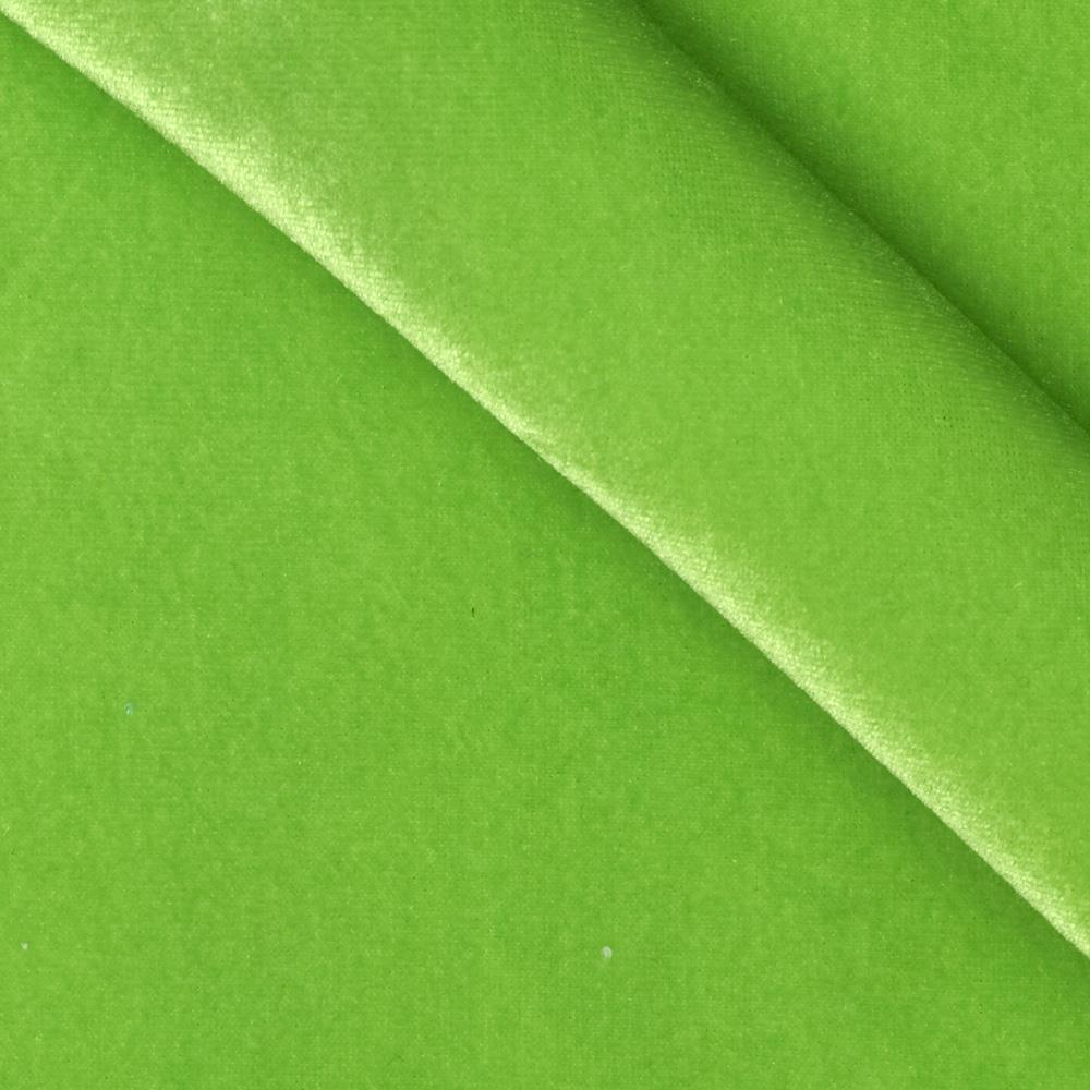 Stretch velvet knit lime discount designer fabric for Velvet fabric