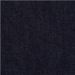 Stretch Denim Dark Wash Midnight Blue