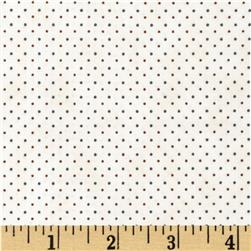 Penny Rose 19th Century Shirtings Dots Brown
