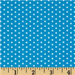 Kaufman Spot On Pindot Blue