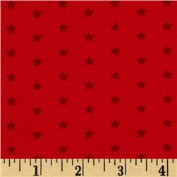 Moda Celebration Stars Tonal Red