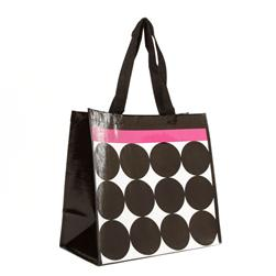 Insta-Totes Shopping Tote Stripes & Dots