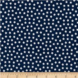 Riley Blake Lucky Star Navy