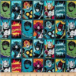 Marvel Comics Comic Book Heroes Dark Teal