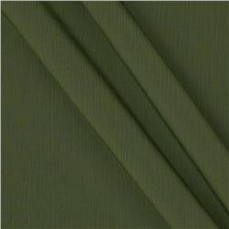 Lyric Wide Crinkle Polyester Shirting Moss Green