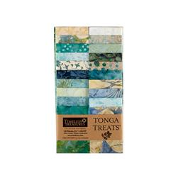 "Timeless Treasures Tonga Batik Surf 2.5"" Strips Half Pack"