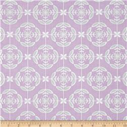 Laugh Love Quilt Medallion Purple