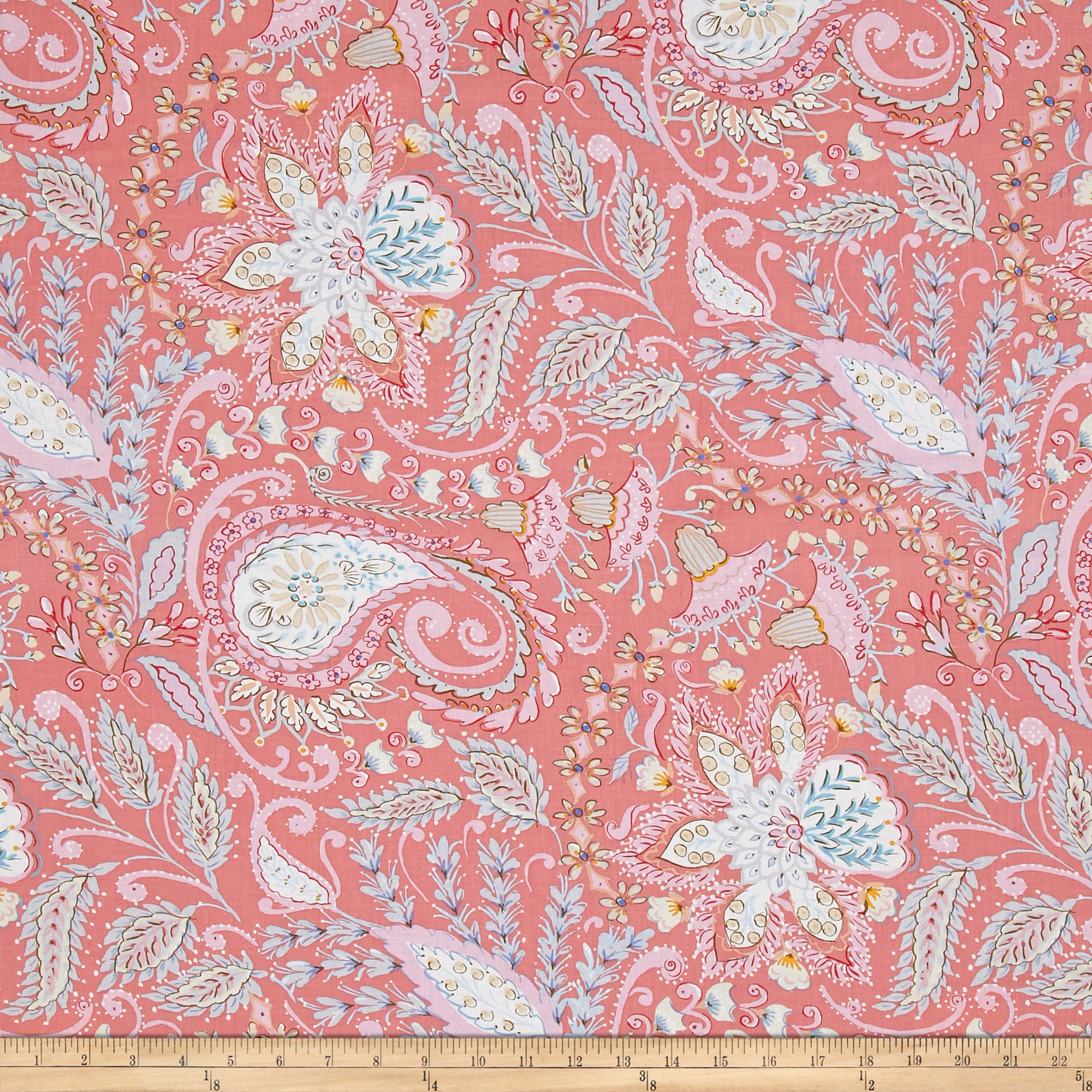 Isabelle Ornate Pink Fabric by Westminster in USA