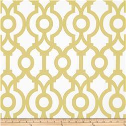 Premier Prints Lyon Saffron Yellow