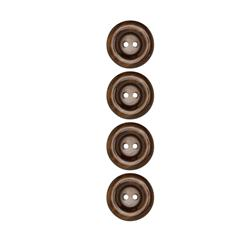 Riley Blake Sew Together 1'' Pearl Button Brown