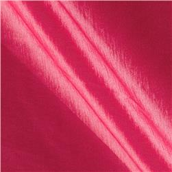 Soiree Stretch Taffeta Iridescent Hot Pink
