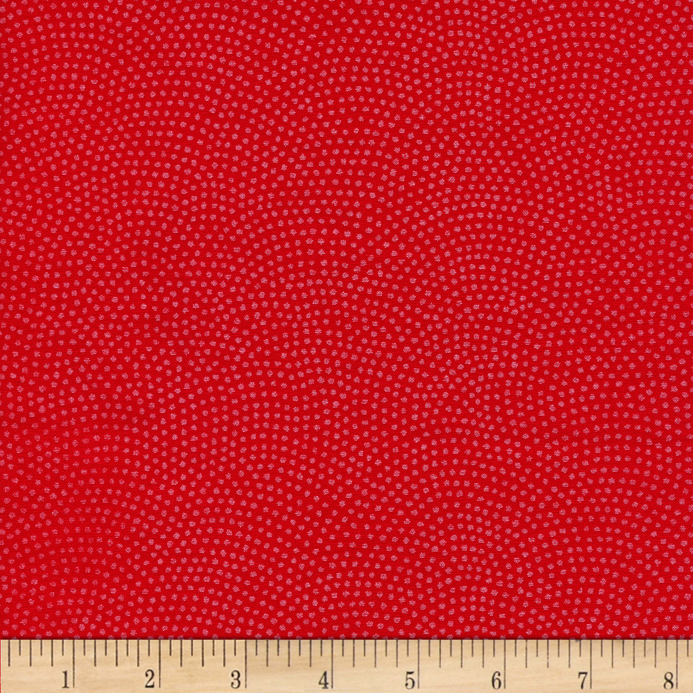 Timeless Treasures Dreaming in Pearle Dots Poppy Fabric