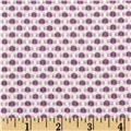 Candy Jacquard Dots Purple