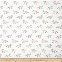 Premier Prints Mustangs Twill Bella Fabric