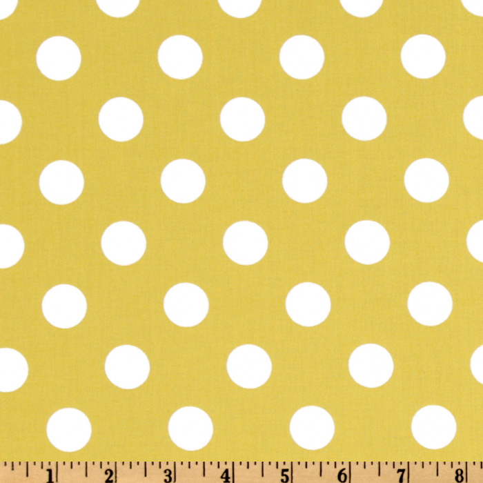 Michael Miller Quarter Dot Sunny Fabric