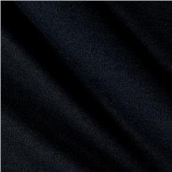 Cotton Jersey Knit Solid Black