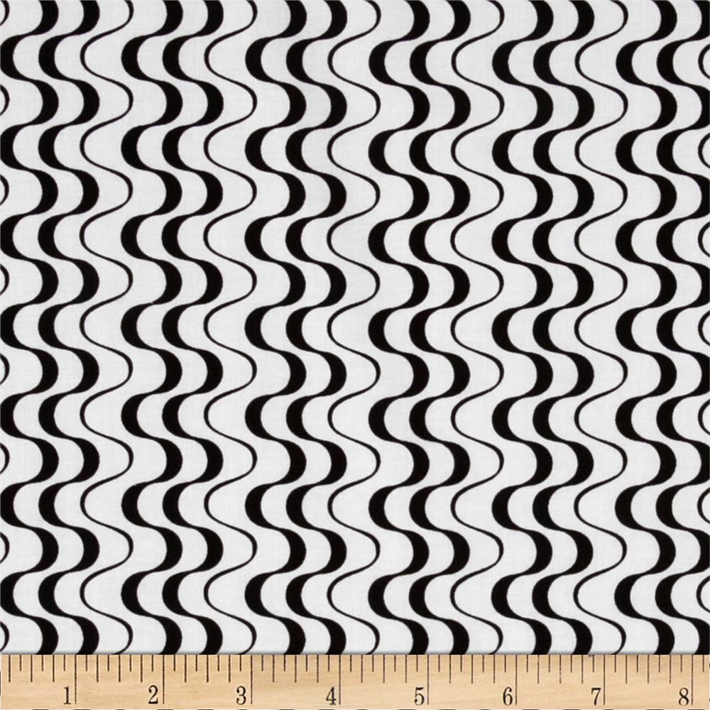 Matrix Zig Zag White/Black