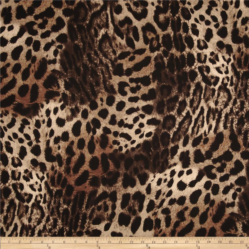 Wild Skins Animal Print Dark Taupe