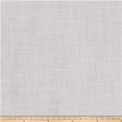 "Fabricut Lisa 127"" Sheer Linen Blend Steel"