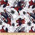 Ultimate Spiderman Toss Flannel
